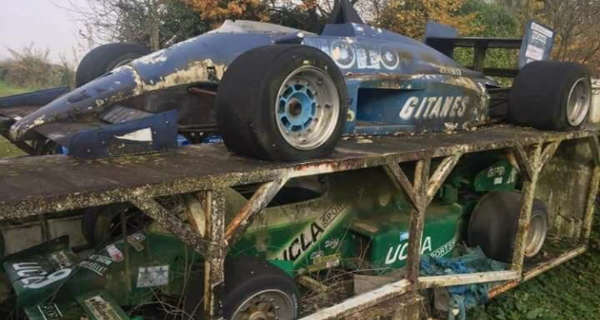 Amazing Abandoned F1 Cars Are Rusting Away 2