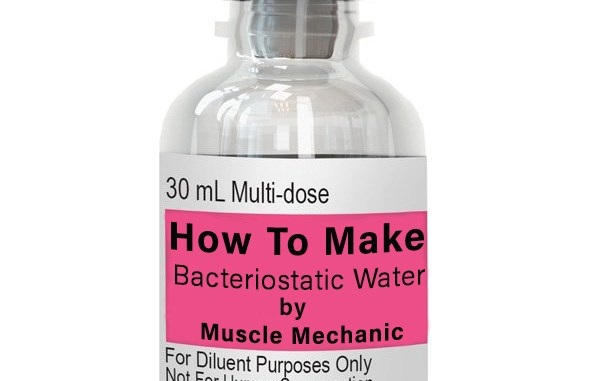 Bacteriostatic Water, BA Wate, Benzyl Alcohol, Diluent, peptide Reconstitution