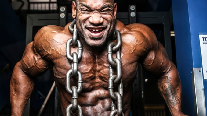 IFBB Professional Bodybuilder Fred Smalls