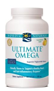 Nordic Naturals Ultimate Omega fish oil.
