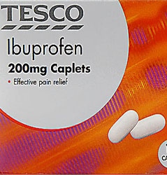 is ibuprofen a muscle building pill
