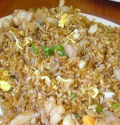 Easy Low Carb Chicken Fried Rice Recipe