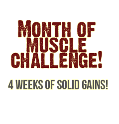 How To Make Your BEST Muscle Gains In The Next 4 Weeks! (for FREE)