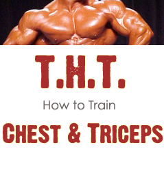 The THT 2.0 Training Cycle. Chest & Triceps Day (part 10)