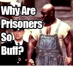Why Are Prisoners So Buff?