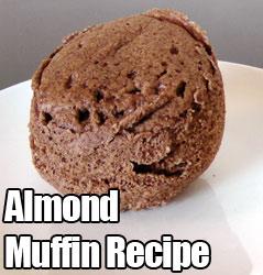 1 Minute Almond Muffin Recipe