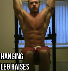 How To Do Hanging Leg Raises (Video)
