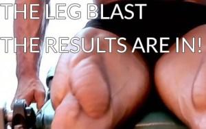 Leg Blast Workout Results