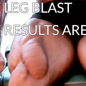 Leg Blast Workout Results