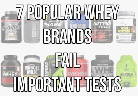 7 x Popular Whey Protein Products Fail BCAA Test