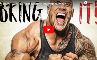 2min Video Gets You Super-Motivated For Bodybuilding