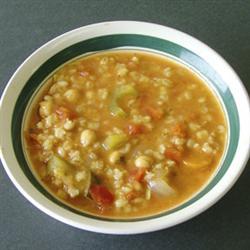 Barley n Veggie Soup