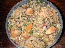 Bulgur Pilaf with Apricots