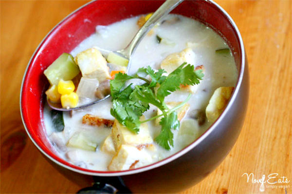 Coco-Ginger Soup