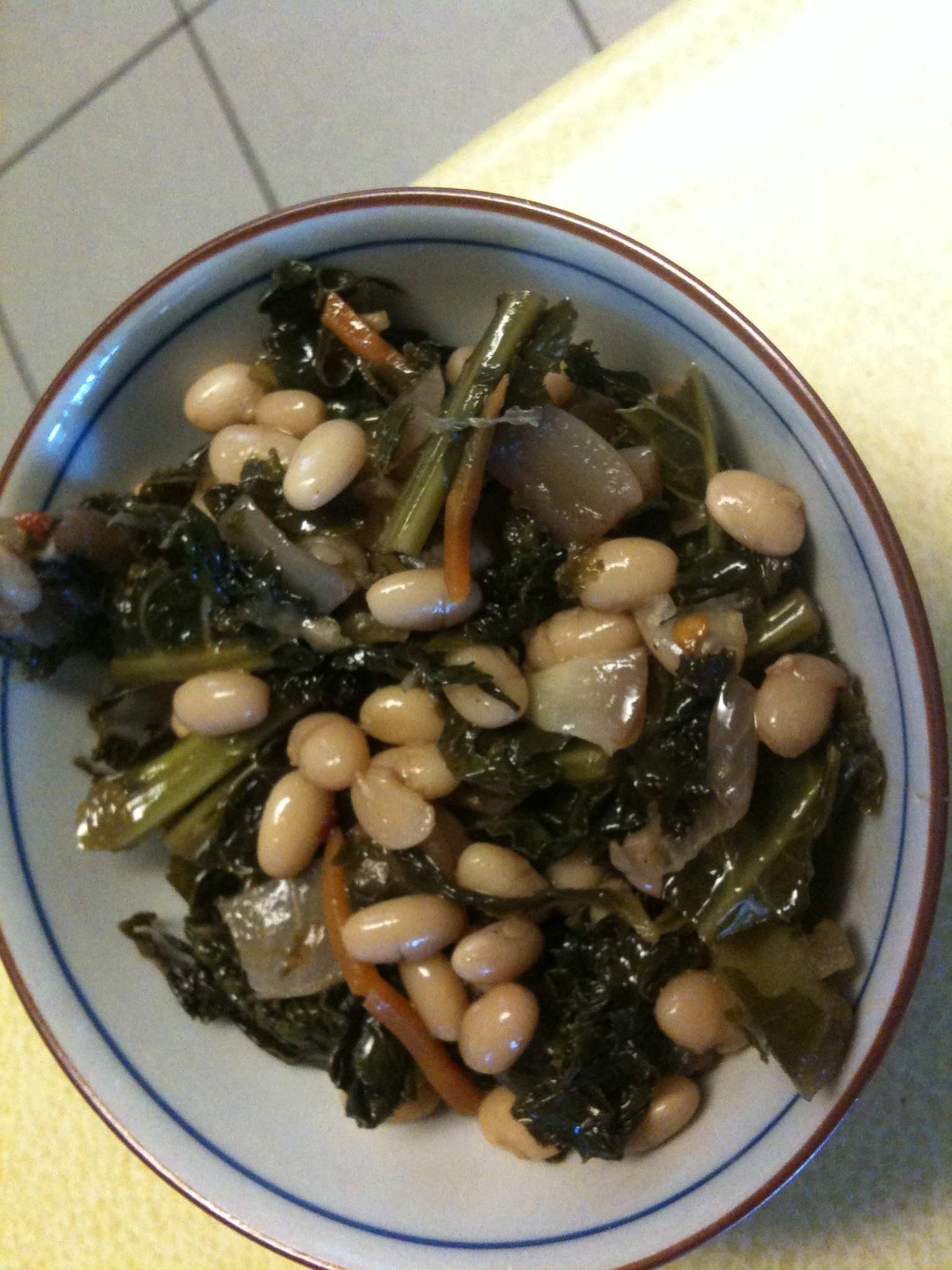 Kale n Bean Decadence