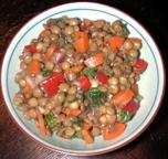 Med Lentil Salad