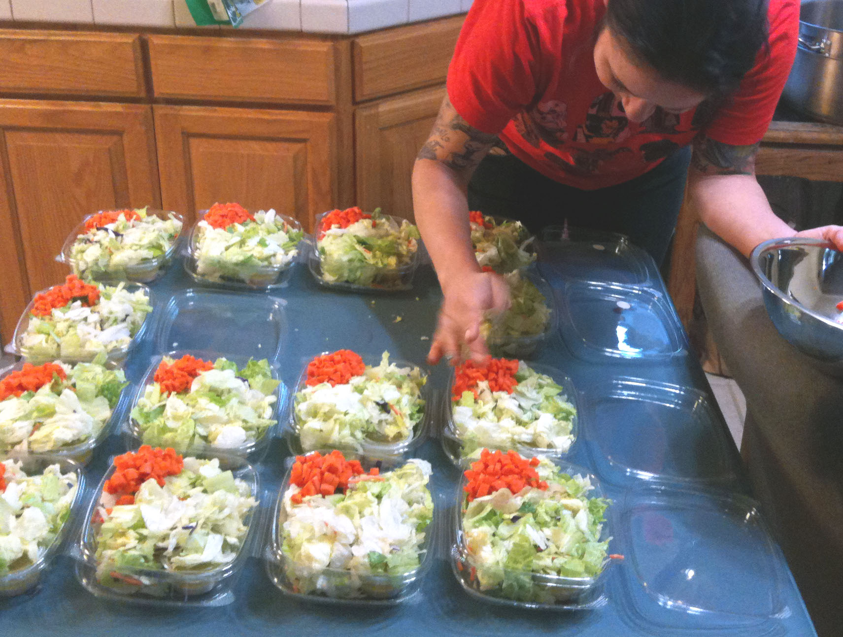 Festive Green Salad