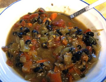 Curried Veggie Souip