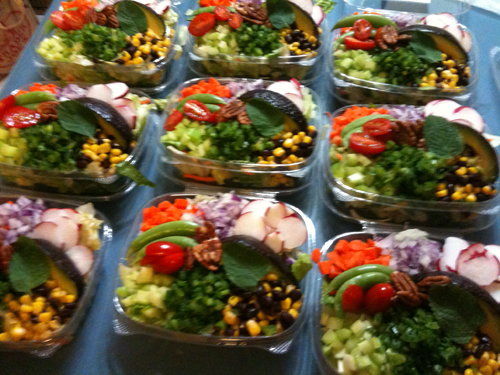 Basalmic Green Salad