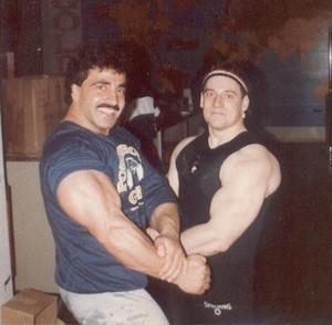 SAMIR BANNOUT & GREGG VALENTINO sm 1981