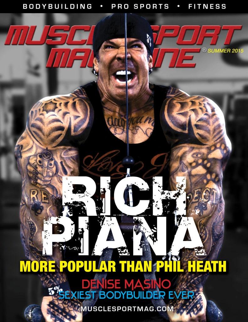 Rich Piana Denise Masino Join MuscleSport Magazine