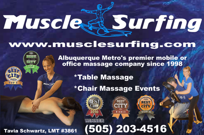 Muscle Surfing - Mobile or Office, Chair or Table, Albuquerque ...