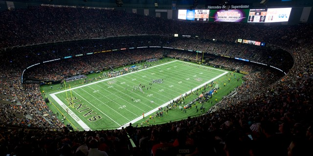 Mercedes-Benz Superdome Press Release | Musco Sports Lighting