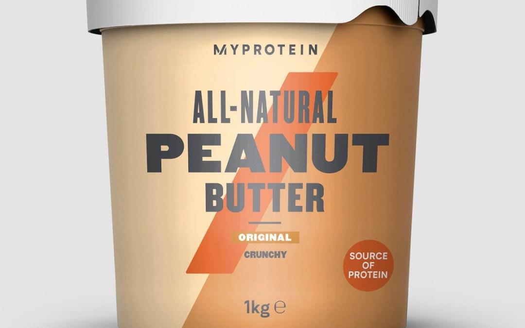 Análisis independiente de la Mantequilla de Cacahuete Natural de MyProtein