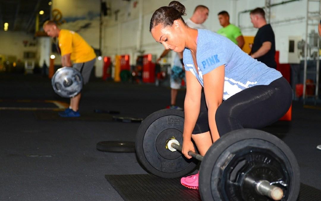 Mujeres que entrenan