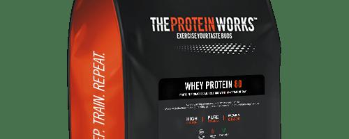 Análisis independiente de Whey Protein 80 de The Protein Works