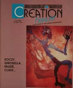 Création Franche N°5 - mars 1992