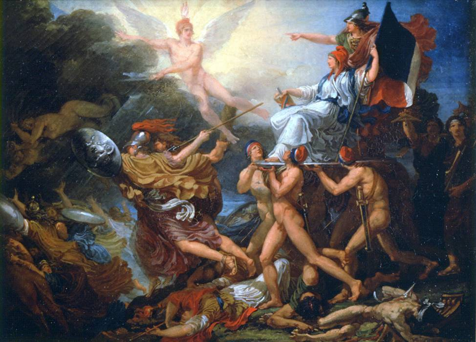 Jacques Rattu a french painter during the Rvolution