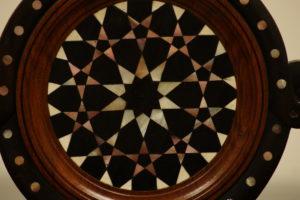 Museo Borgogna, Vercelli, sala araba, Parvis, dettaglio di una sedia