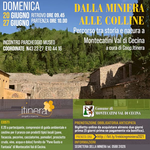 Trekking Miniera Prenota Online