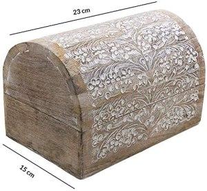 02-Caja para tarot cofre floral