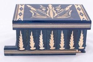 05-Caja para tarot llave oculta azul