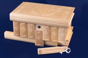 08-Caja para tarot llave oculta blanco