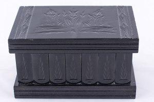 03-Caja para tarot llave oculta Negro