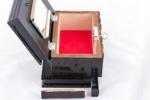 09-Caja para tarot llave oculta Negro