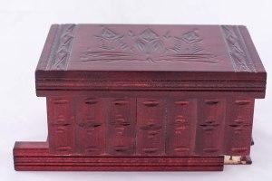 05-Caja para tarot llave oculta Rojo