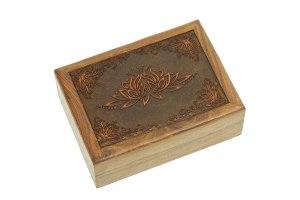 01-Caja para tarot con loto