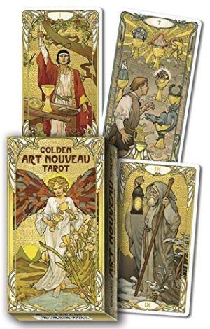 01-Golden Art Nouveau Tarot