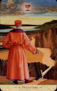 Grail Tarot A Templar Vision Tarot  El Loco