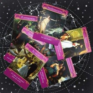 04-Mantel para tarot Constelaciones - Negro