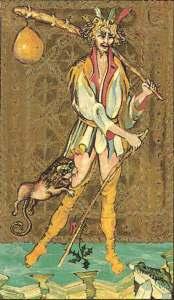 Medieval Scapini Tarot  El Loco