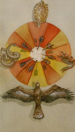 Native American Tarot  Rueda Fortuna