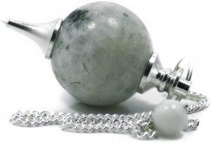 01-Péndulo Radiestesia Adivinación - Piedra de Luna
