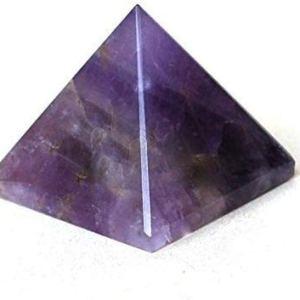 01-Pirámide Energía Amatista Morada