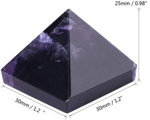 04-Pirámide Energía Amatista Púrpura