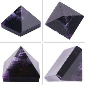 06-Pirámide Energía Amatista Púrpura